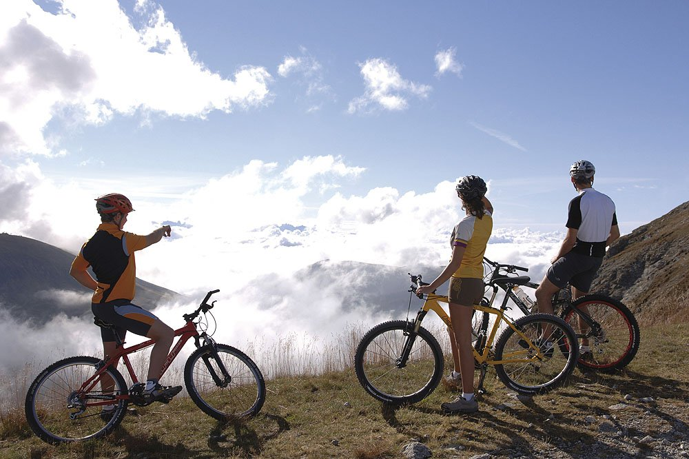 Cycling Holidays in South Tyrol focal point of the cycle paths