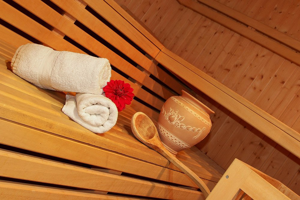 Guesthouse with sauna for your spa holiday