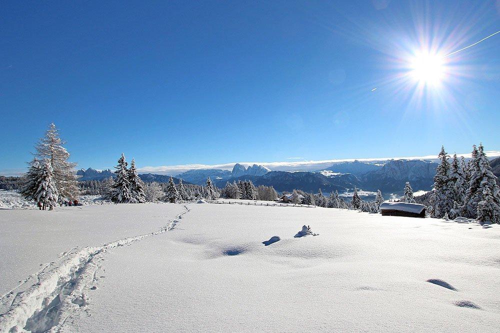 Pistenfreuden, Pulverschnee und Rodelspaß in der herrlichen Bergwelt um das Eisacktal